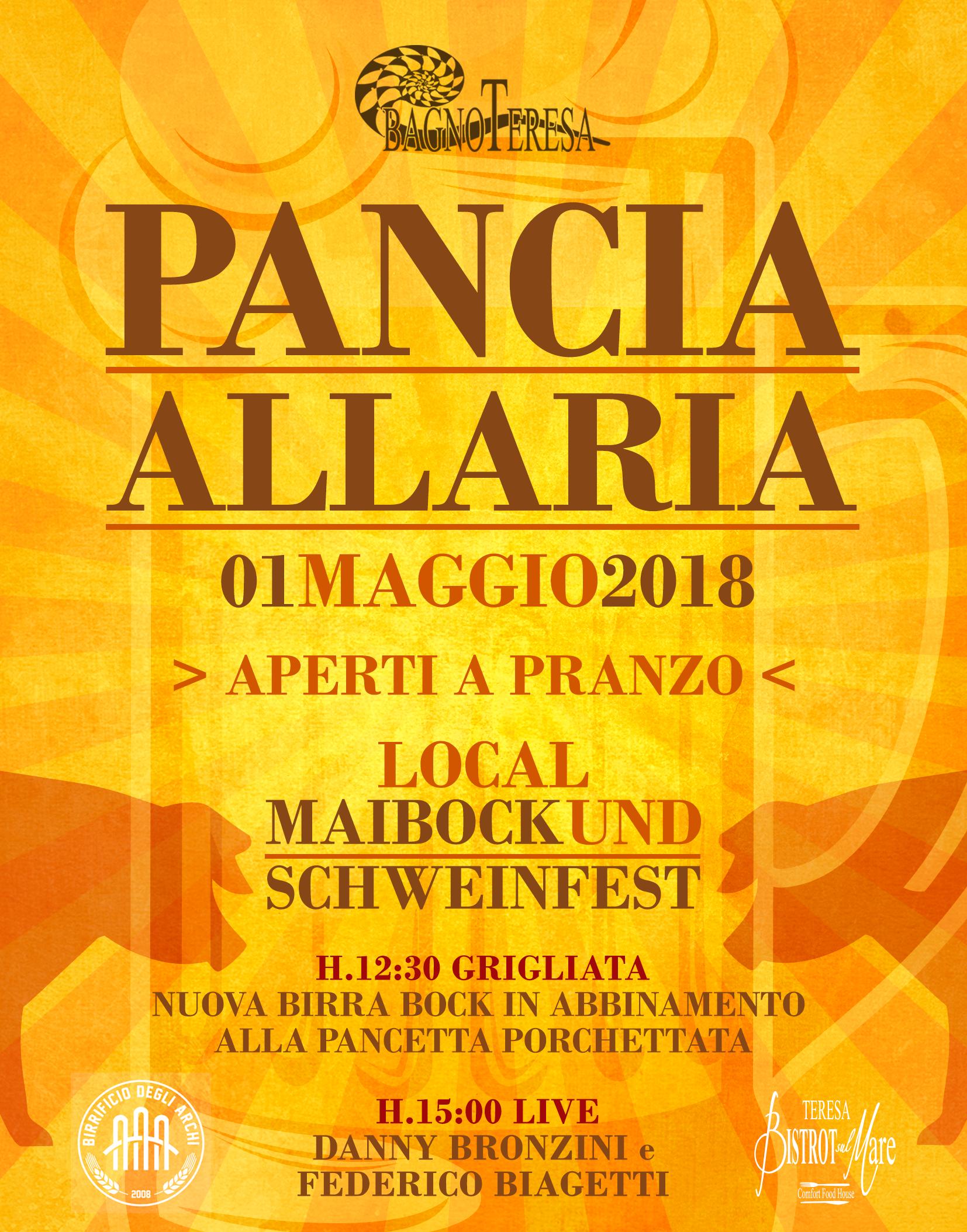 Panciallaria atto ii 1 maggio bagno teresa viareggio - Bagno teresa viareggio ...
